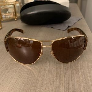 Prada Gradient Brown Sunglasses